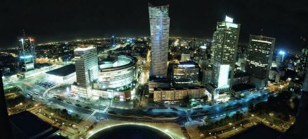 Free Cityscape Warsaw Poland