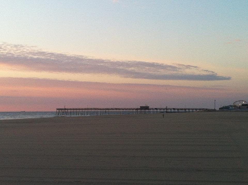 Free Early Morning Ocean City Beach