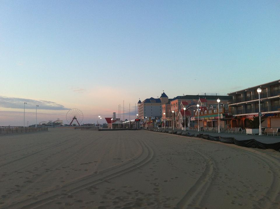 Free Ocean City Beach Sunrise