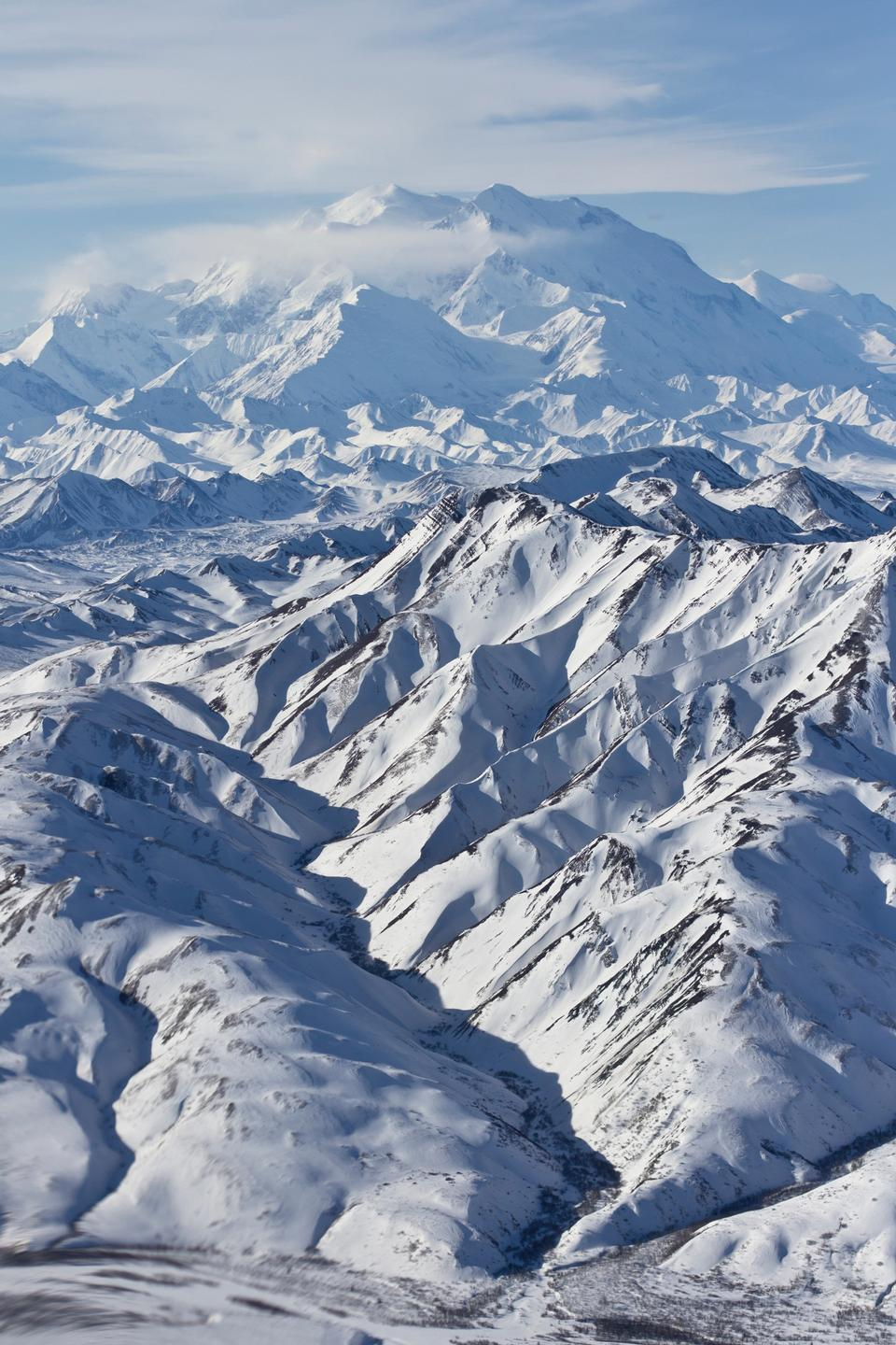 Free Photos: Denali and Range from Air Portrait | ustrekking