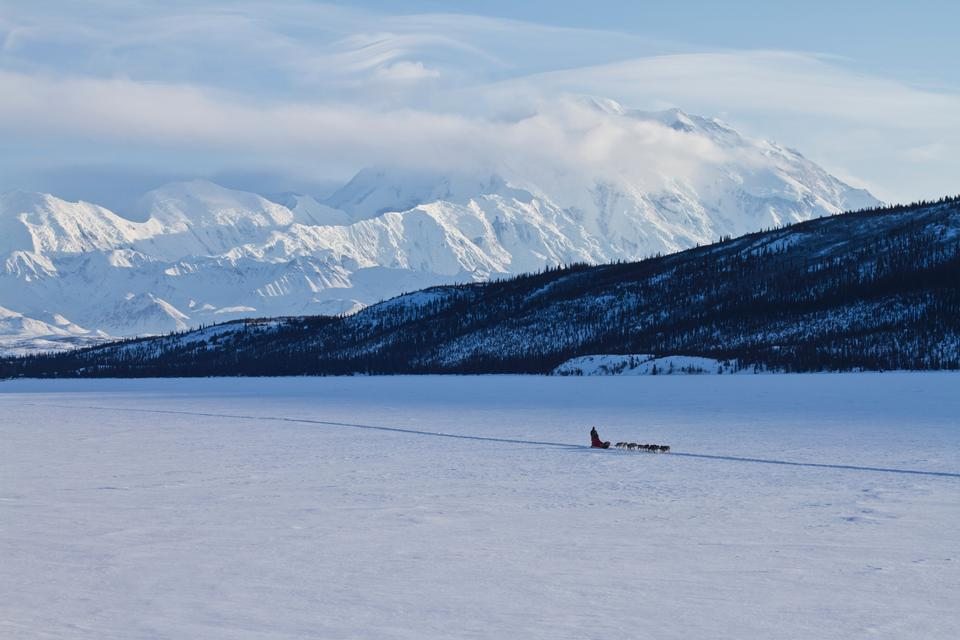 Free Photos: Wonder Lake with Musher Landscape | ustrekking