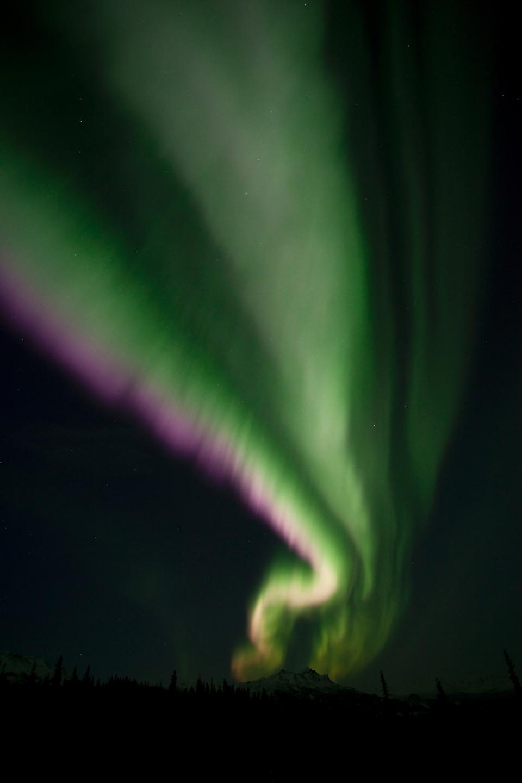 Free Spectacular auroral display