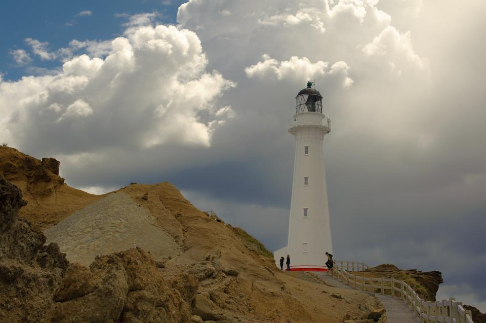 Free Castle Point lighthouse New zealand