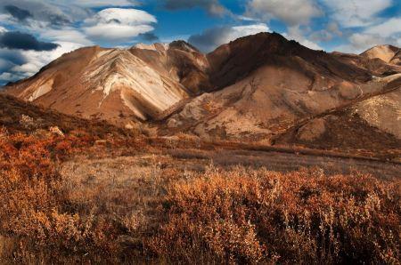 Free Cathedral Mountain  Denali National Park Alaska
