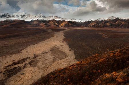 Free Landscape of Polychromel Denali National Park Alaska