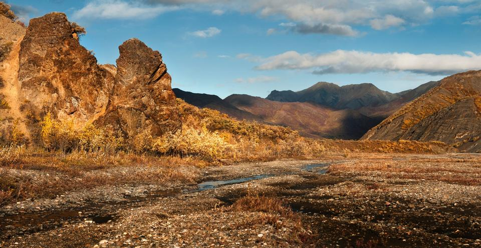 Free East Fork River, Polychrome Mountains