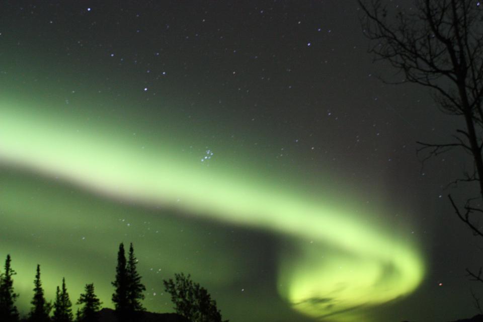 Free Swirling Lights Aurora Borealis