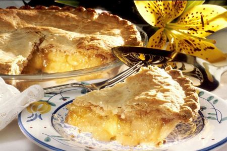 Free Slice of delicious fresh baked Rustic Apple Pie