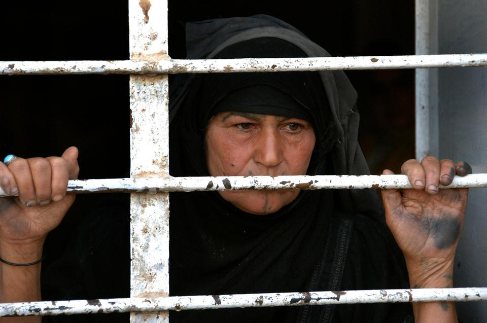 Free Old Female Viewing Out in Iraq