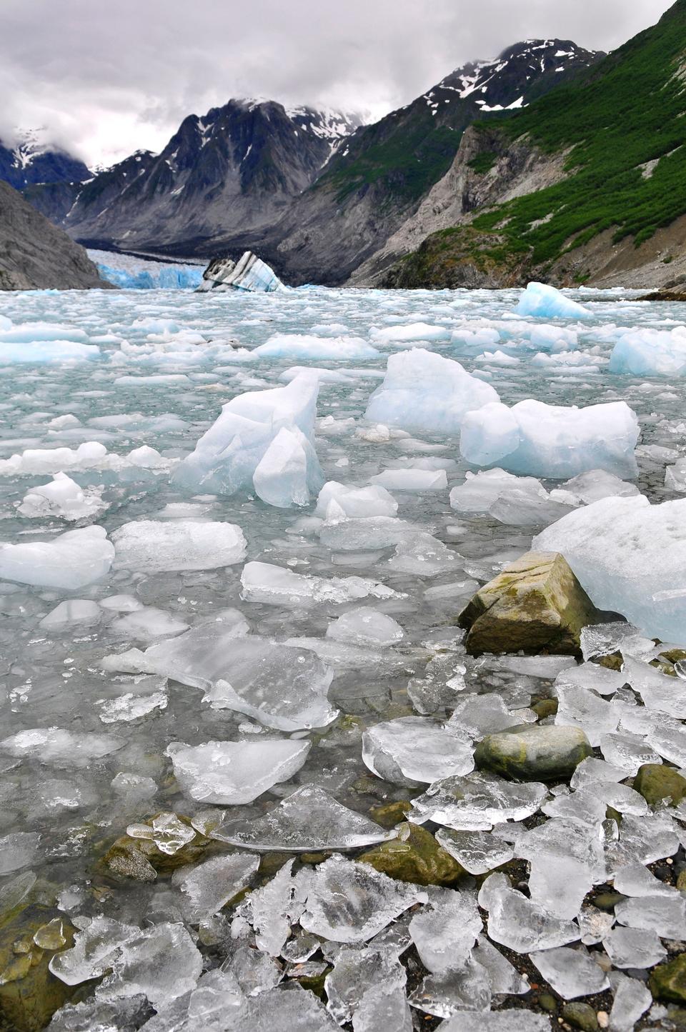 Free McBride Glacier