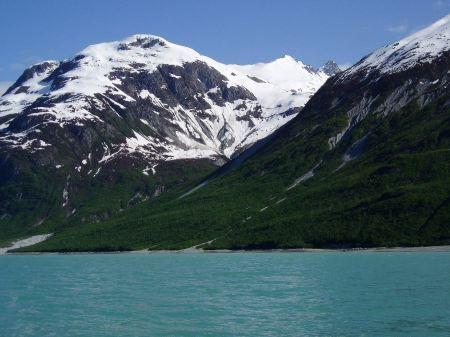 Free Glacier Bay mountains