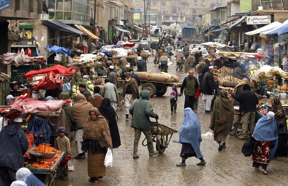 Free the older markets in Afghanistan