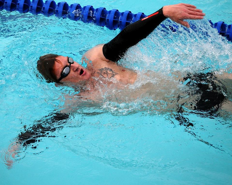 Free Swimming Backstroke