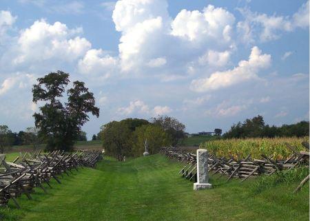 Free Sunken Road, Bloody Lane at Antietam
