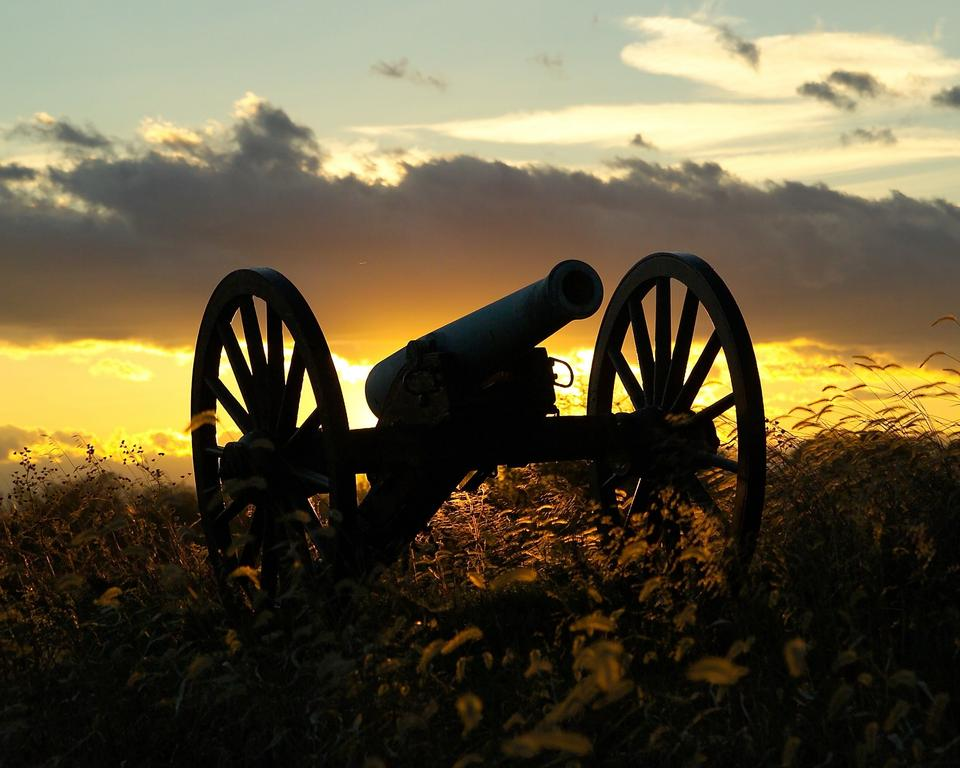 Free Antietam National Battlefield Sunset