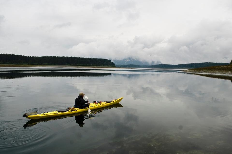 Free Kayaking in the Beardslee Islands of Glacier Bay
