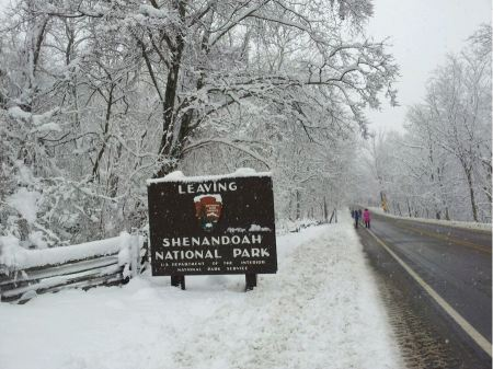 Free Shenandoah National Park Sign Board