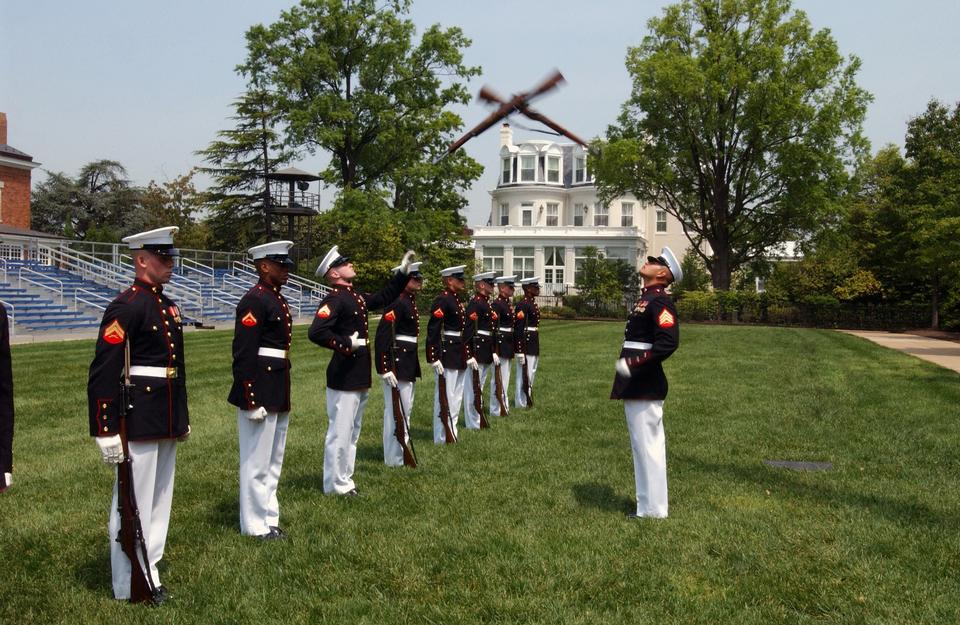 Free The United States Marine Corps Silent Drill Platoon