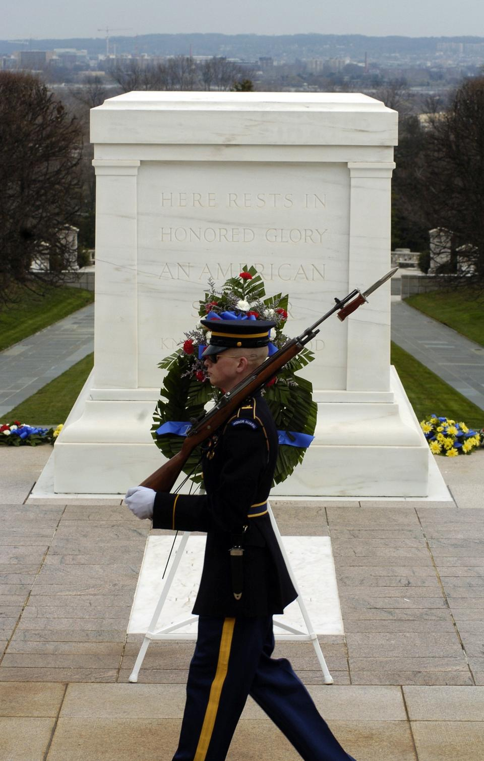 Free Arlington National Cemetery Soldier