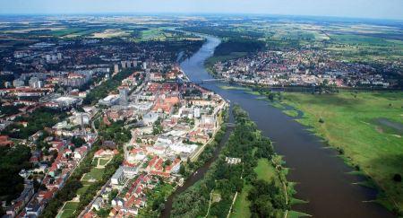 Free Landscape of Frankfurt Germany