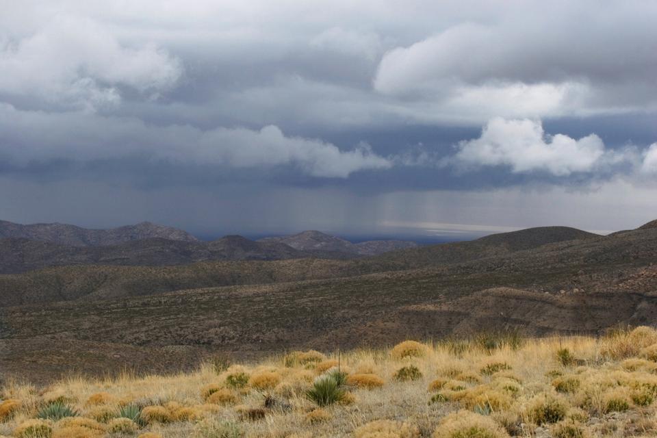 Free Desert Rainstorm Guadalupe Mountains National Park