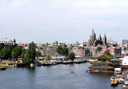 Free Cityscape Amsterdam