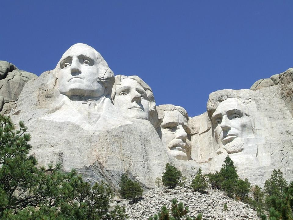 Free Lanscape of Mount Rushmore