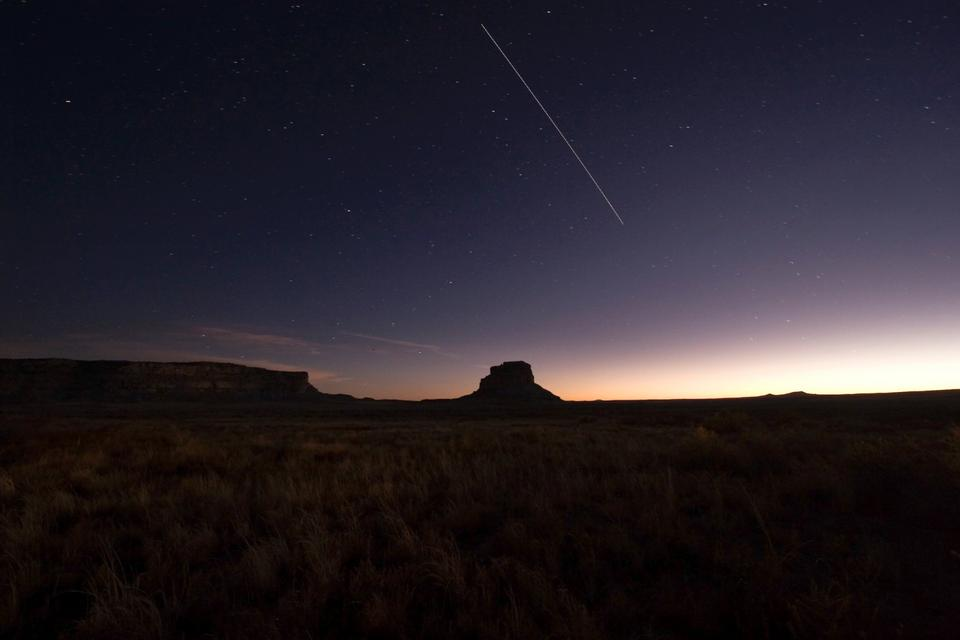 Free Fajada Butte at night.