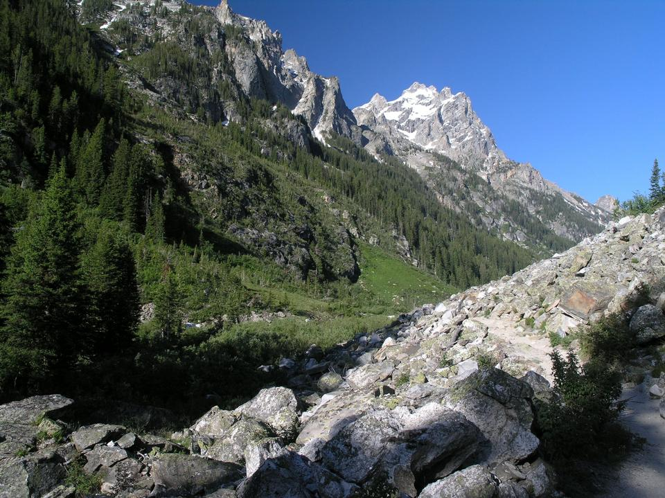 Free Cascade Canyon Main Canyon