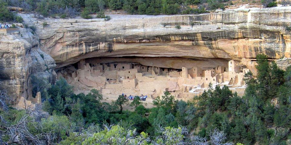 Free Landscape of Cliff Palace