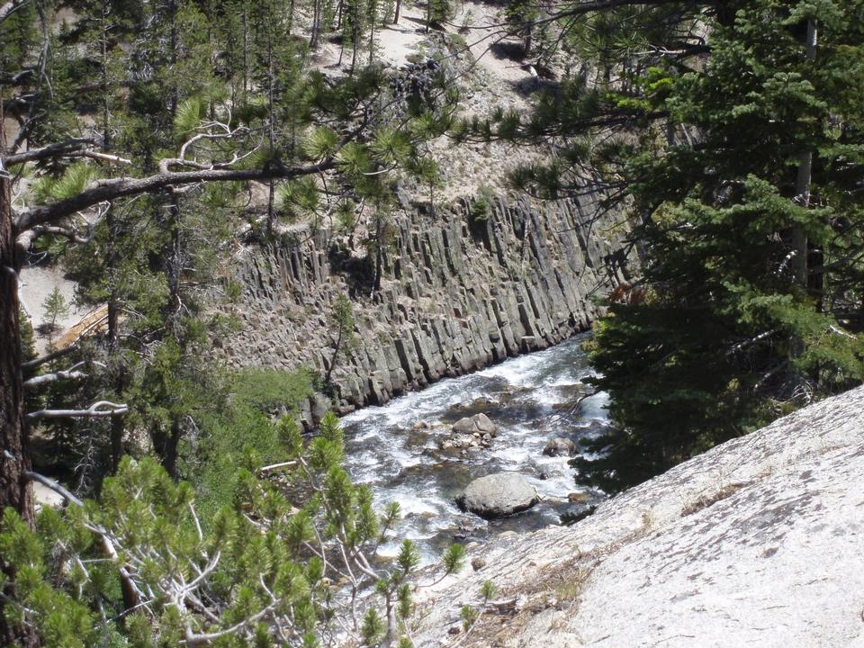 Free San Joaquin River and Devils Postpile