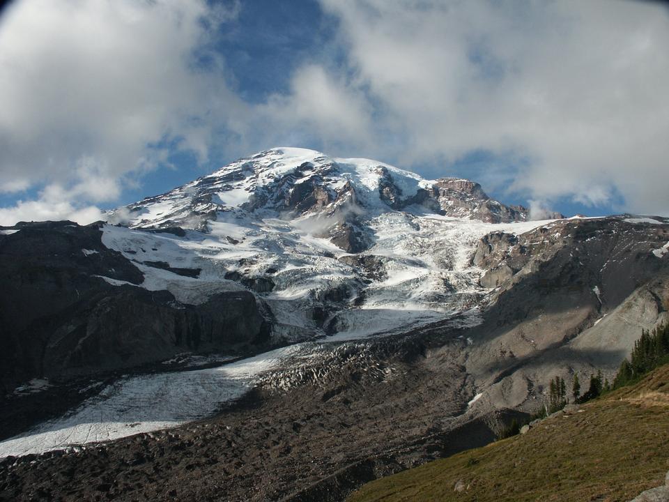 Free Mount Rainier from Glacier Vista, Paradise