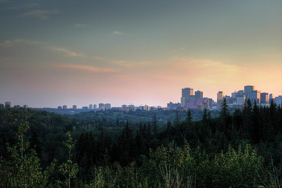 Free Cityscape Edmonton Canada