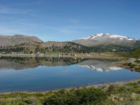 Free mountain lake in Argentina