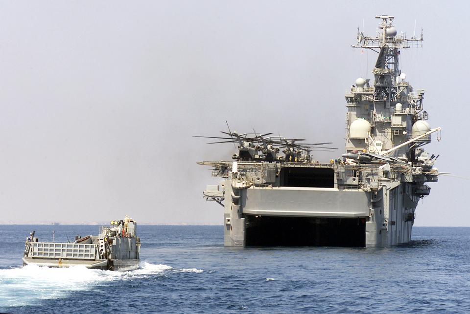 Free A U.S. Navy Landing Craft Utility