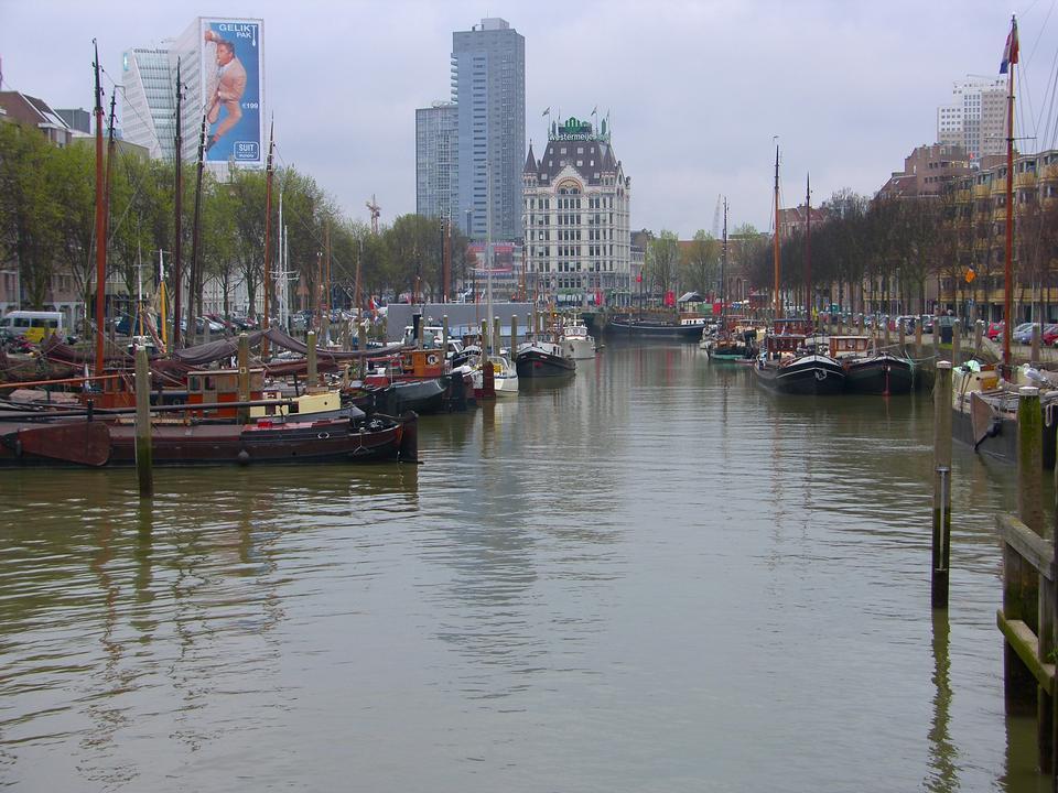Free Cityscape Rotterdam Netherlands