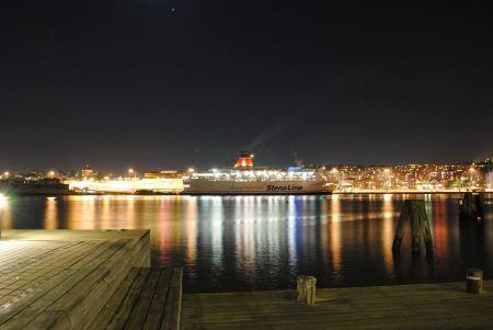 Free Nightscape Gothenburg Sweden