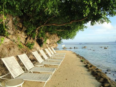 Free Beach Lounges in Guam