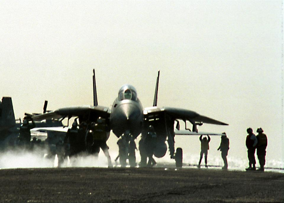 Free An F-14B Tomcat from  Fighter Attack Squadron One Zero Three