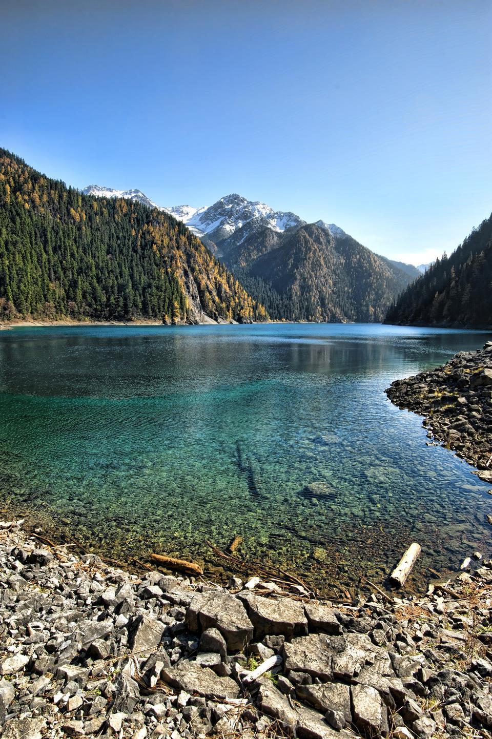Free jiuzhaigou valley long lake