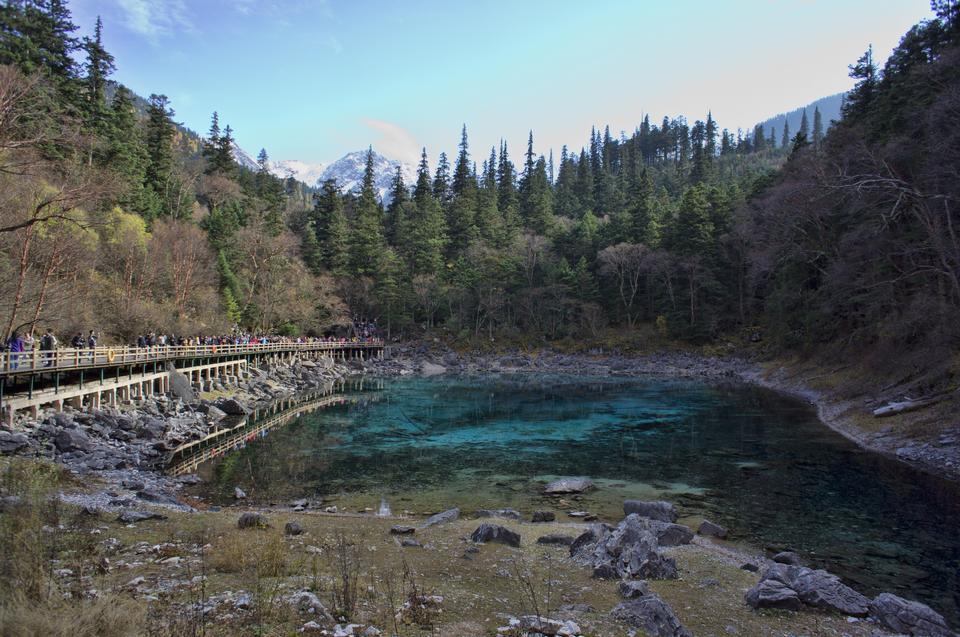 Free jiuzhaigou valley national park sichuan china