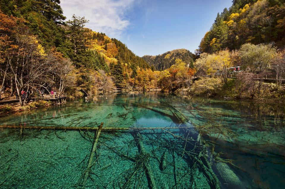 Free jiuzhaigou valley national park