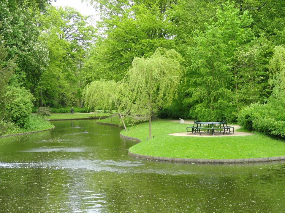 Free Beautiful Green Park Copenhagen Denmark