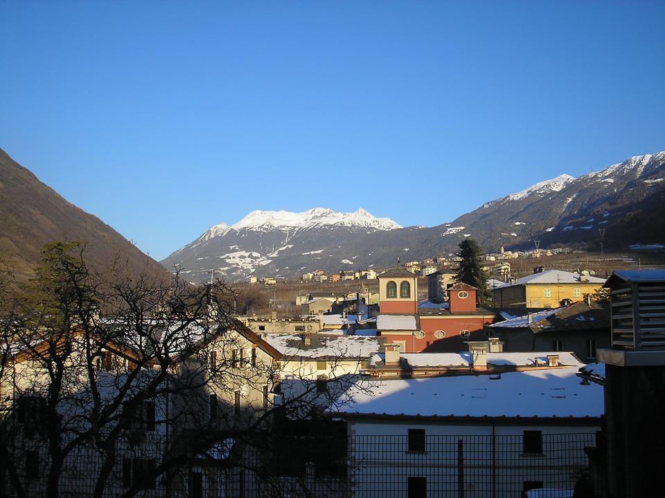 Free Landscape Tirano Italy