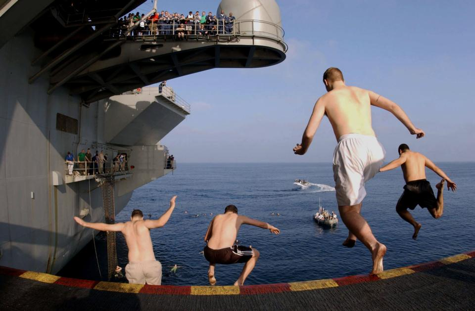 Free Sailors and Marines finally jump ship