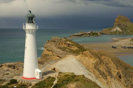 Free Landscape Lighthouse New Zealand