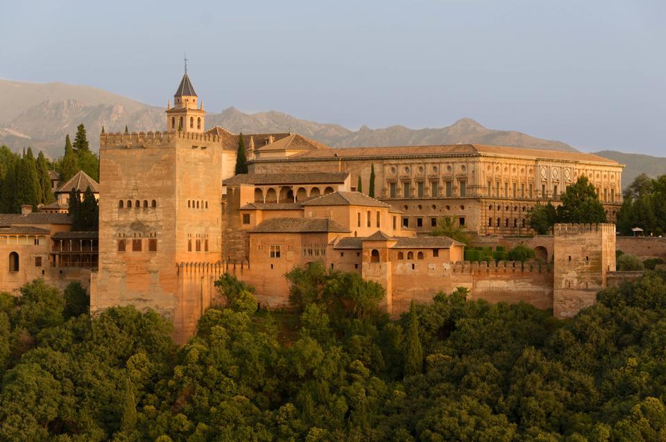 Free Alhambra palace, Granada, Spain