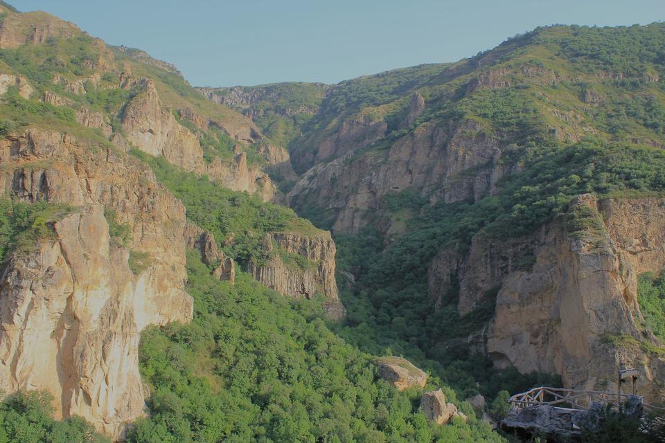 Free Mountainous Armenia, autumn in the mountains