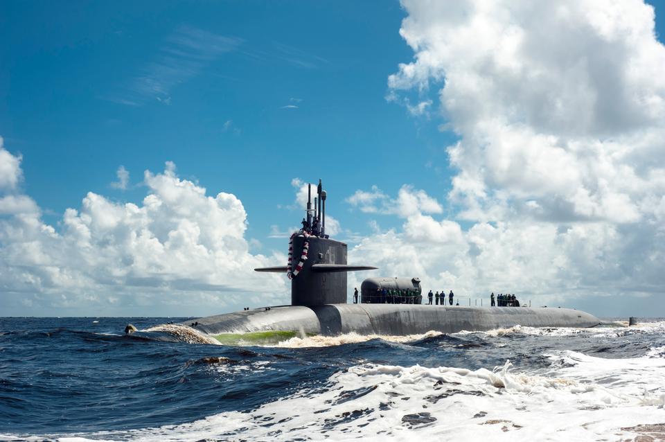 Free USS Georgia Submarine  Kings Bay