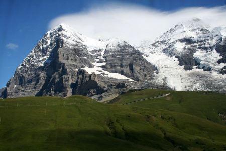 Free Eiger Mountain Kleine Scheidegg
